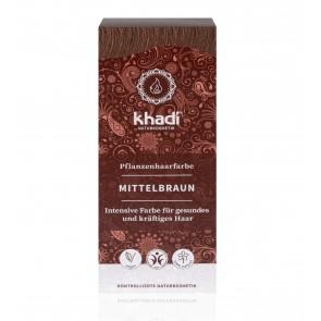 Khadi Herbal Hair Colour Medium Brown