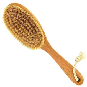 Forsters Back Brush Medium Length Handle & Natural Sisal Bristles