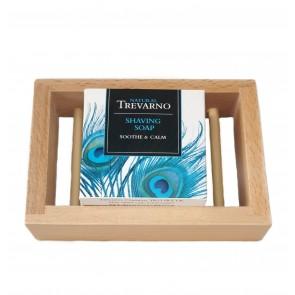 Organic Trevarno Shaving Soap & Platane Dish