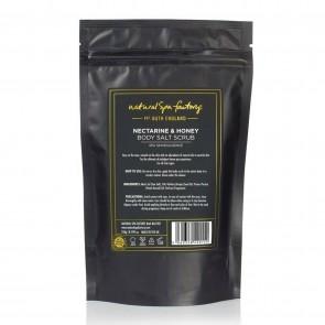Natural Spa Factory Nourishing Nectarine & Honey Body Salt Scrub