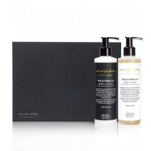 Natural Spa Factory Fig & Vanilla Body Duo Gift Set