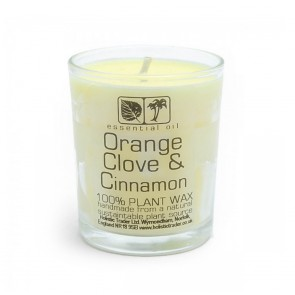 Orange Clove & Cinnamon Candle
