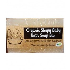 Organic Lavender Baby Soap Bar
