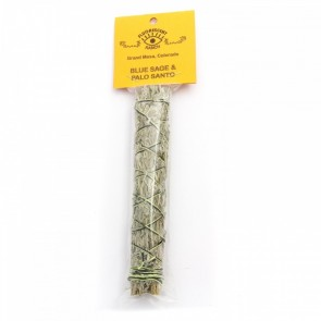 Blue Sage & Palo Santo Smudge Stick