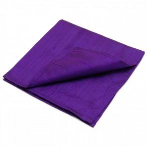 Large Purple 100% Silk Reading Cloth