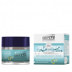 Lavera Basis Anti Ageing Night Cream Q10 Basis Sensitive
