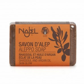 Najel Aleppo Rhassoul & Argan Oil Soap