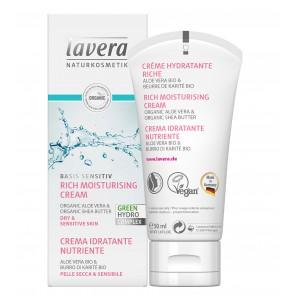 Lavera Basis Sensitiv Rich Moisturising Cream