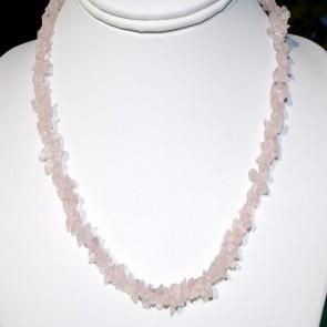 Rose Quartz Cheap Necklace