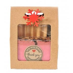 Rose Petals Soap & Dish Gift Set