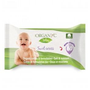 Organyc Sweet Caress Organic Cotton Baby Wipe