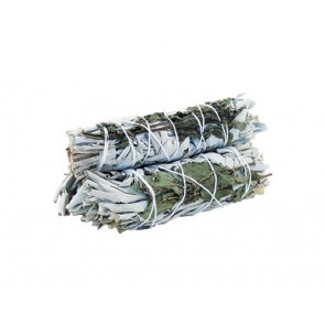 White Sage & Rosemary Smudge Stick 10cm