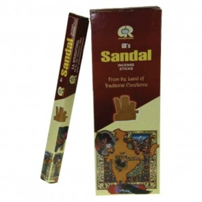 Incense Sandalwood Hexagon Package