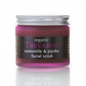 Organic Trevarno Chamomile & Jojoba Face Scrub