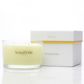 Aromaworks Serenity 3 Wicks Candle