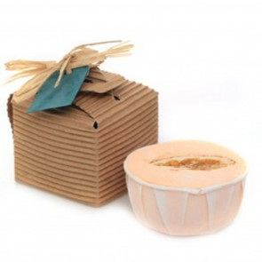 Bath Bomb Orange & Shea Butter Gift Set