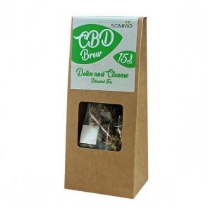 Somnio Hemp Brew Blended Tea Detox & Cleanse bags 30g -45mg
