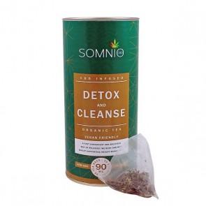 Somnio Hemp Infused Organic Tea Detox & Cleanse 30pcs