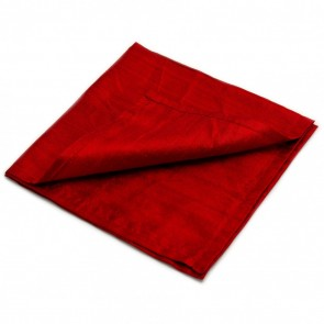 Large Red 100% Silk Reading Cloth