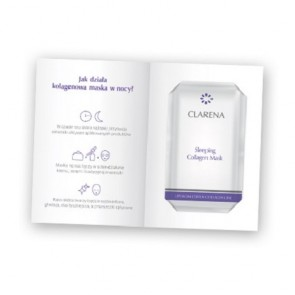 Clarena Sleeping Energizing Collagen Night Mask 1pc