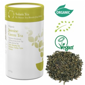 Solaris Organic Jasmine Green Tea Award Winner