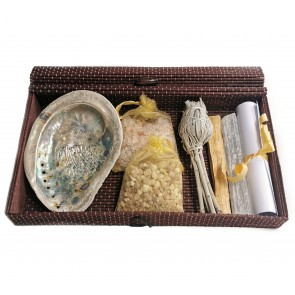 Space Clearing Resin Ritual in Bamboo Gift Box