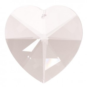 Feng Shui Hanging Crystal Sun Catcher Crystal Heart