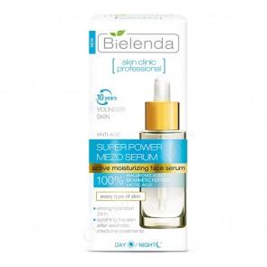 Bielenda Skin Clinic Super Power Mezo Serum Hydrating Anti-Age Day Night Serum