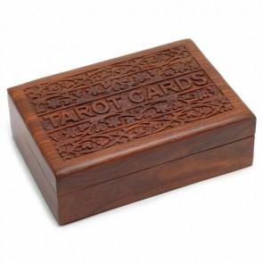 Wooden Sheesham Tarot Card Box