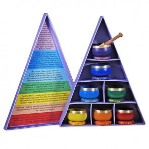 Chakra Singing Bowl Gift Set