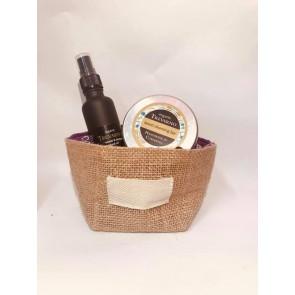 Organic Trevarno Beard Cleansing Balm & Sandalwood Beard Oil Gift Set
