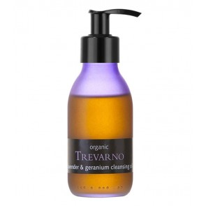 Organic Trevarno Lavender & Geranium Cleansing Oil