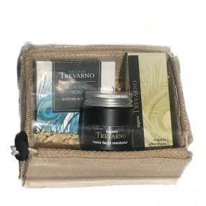 Organic Trevarno Mens Shaving Kit