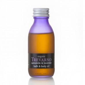 Organic Trevarno Camomile & Lavender Bath & Body Oil
