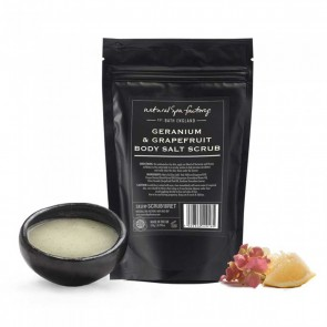 Natural Spa Factory Geranium & Grapefruit Body Scrub